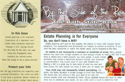 Cover of By The Side of the Road newsletter